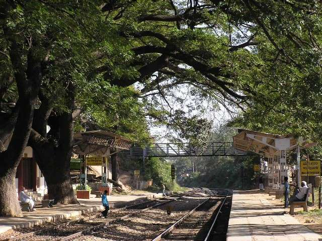 Complete picture - Malleswaram Railway Station